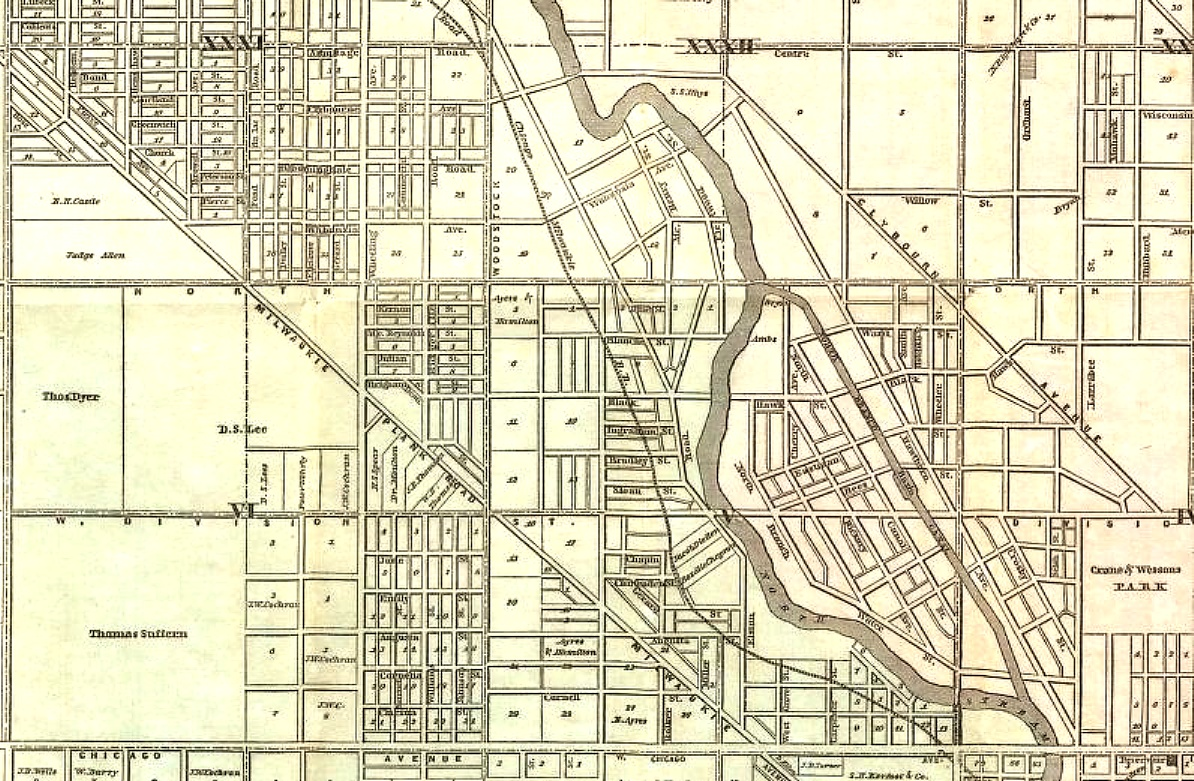 ST STANISLAUS KOSTKA Footnotes To Chicago History  Cook County - Chicago map by county