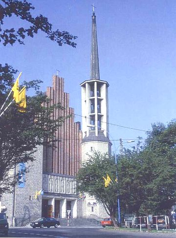 Jaslo's Historical Catholic Parish, Malopolskie, Poland